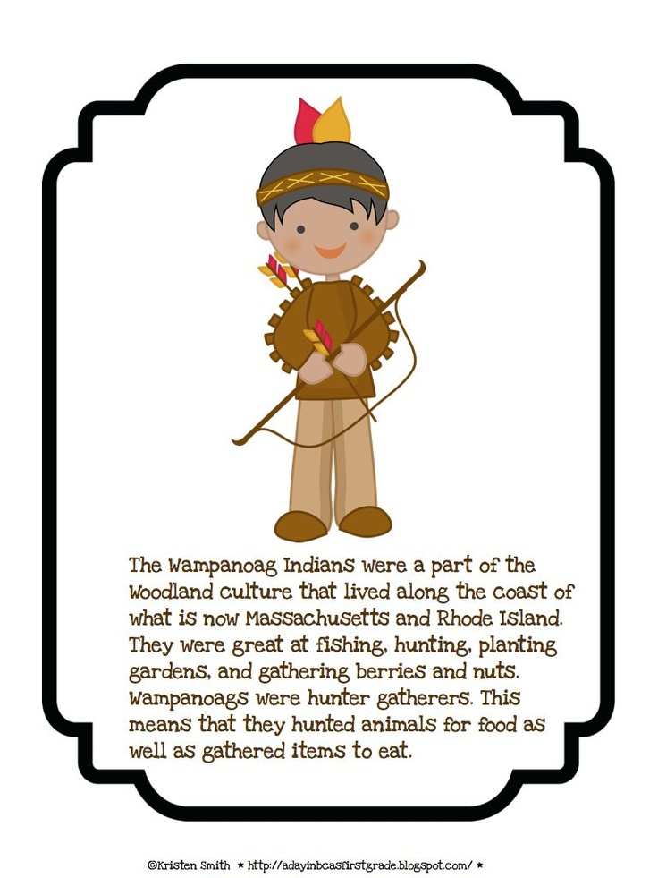 Pilgrim clipart wampanoag indians First Are 43 day about