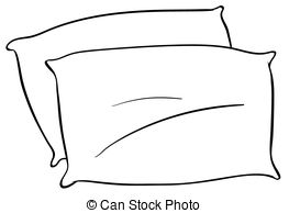 Bed clipart pilow EPS 291 Close with Pillows