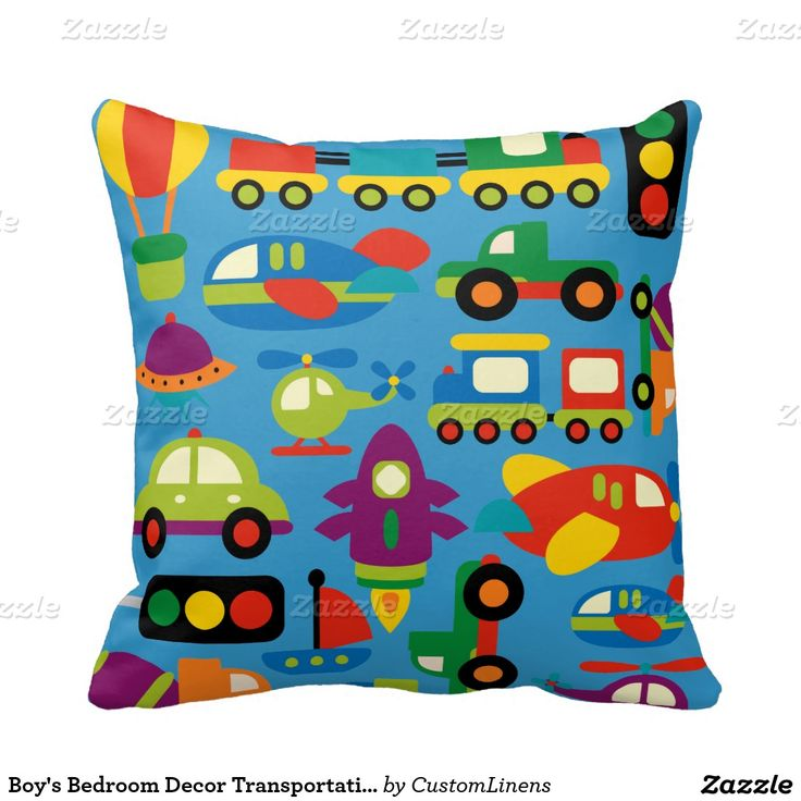 Pillow clipart boy bedroom Best Boy's Room Pillow Colors