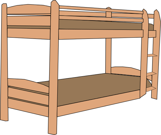 Pillow clipart bunkbed Clipart Free Clip pages 2