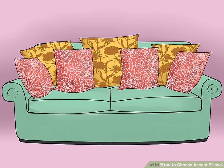 Pillow clipart comfy bed WikiHow Accent Ways Accent titled