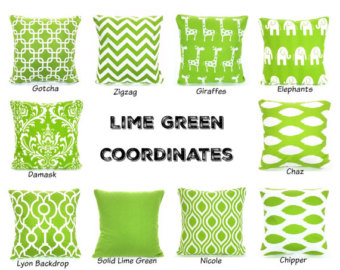Pillow clipart kelly green Euro Sham Green Green Throw