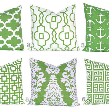 Pillow clipart kelly green Covers Cover Pillow Kelly Decorative