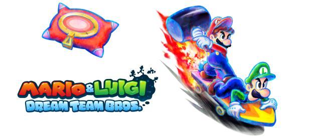 Pillow clipart mario and luigi dream team  Mario Bros Luigi: Team