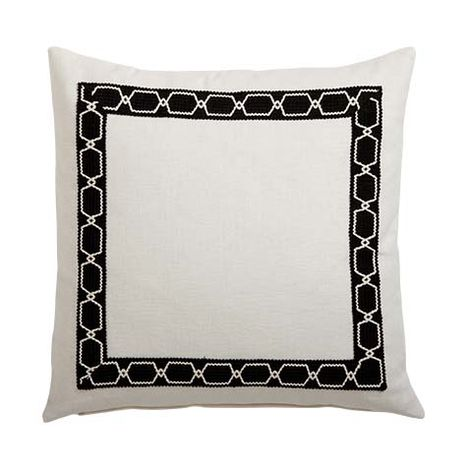 Pillow clipart square pillow Ivory Pillows Pillows & Black/Ivory
