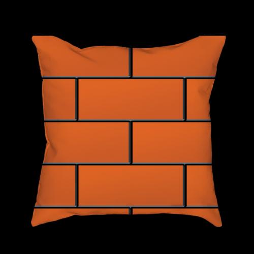 Pillow clipart square pillow Brick Pillows – SOARDOGG Throw