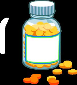 Pills clipart Bottle vector Blank Pill online