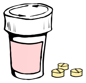 Pills clipart background Art Clip Pills Download Bottle