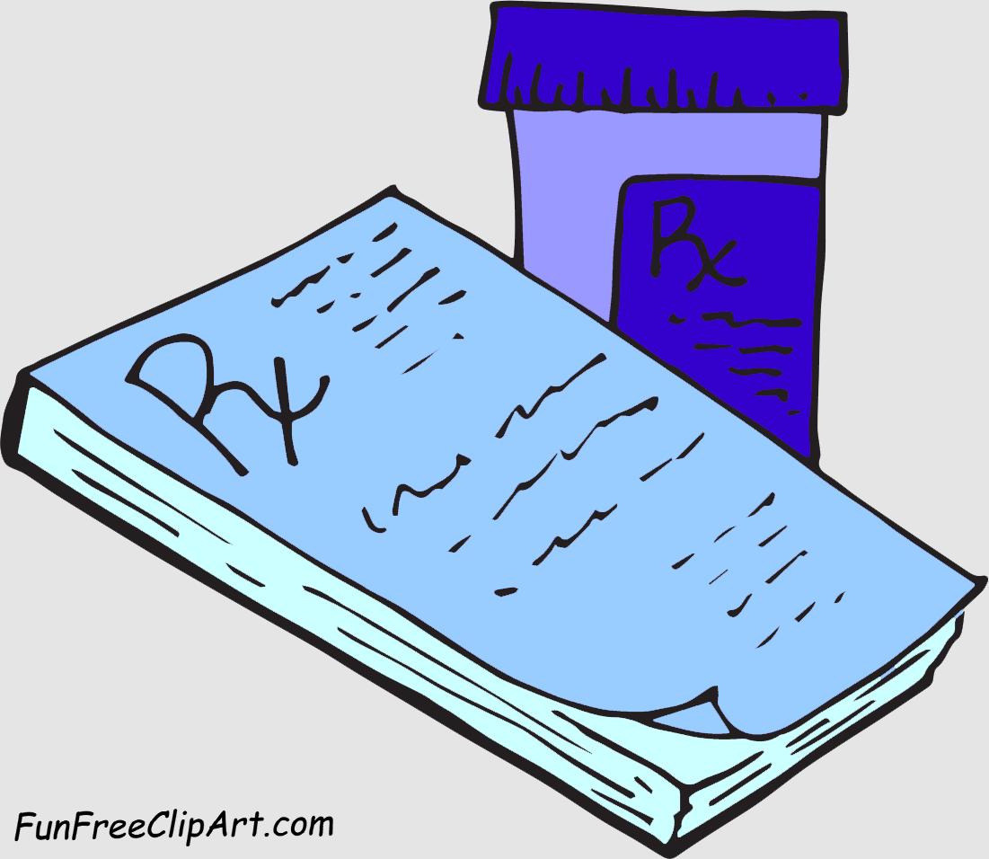 Pills clipart doctor prescription Free Clipart Images Prescription Panda