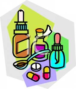 Pills clipart liquid medicine Medication Clipart and Picture Free