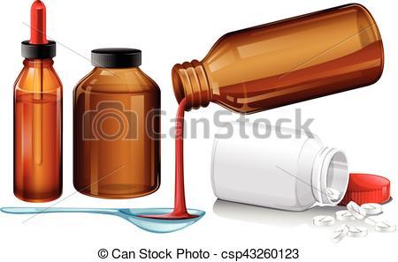 Pills clipart liquid medicine And  Liquid Vector Liquid