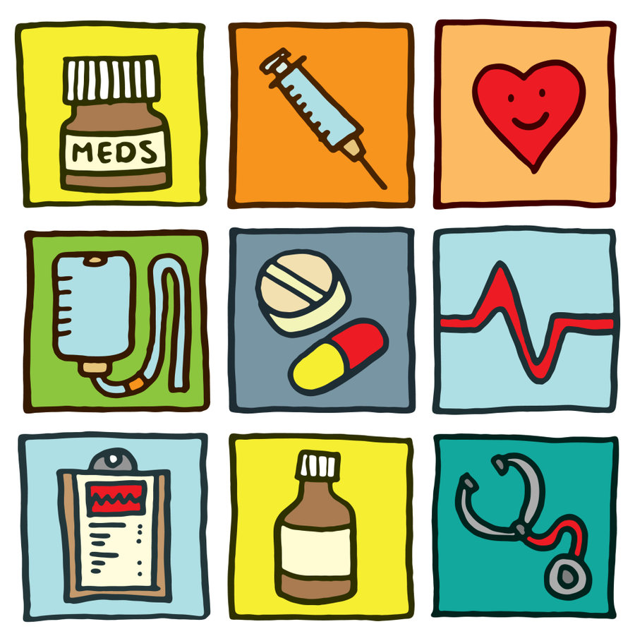 Pills clipart medication administration Illustration medical  A Q