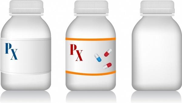 Pills clipart medicine bottle Vector Free Pill (211 Bottles