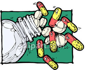 Pills clipart spilled A are 8060 all 199680