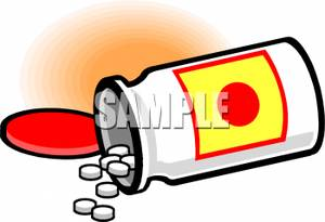 Pills clipart spilled Royalty From Picture From Clipart