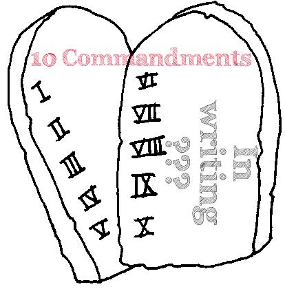 Pills clipart ten Ten clipart about Commandments commandments