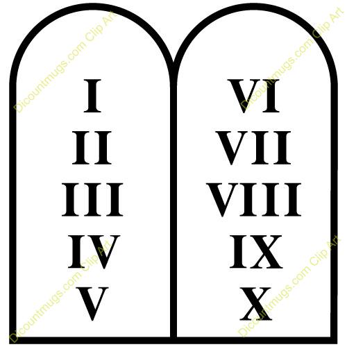 Pills clipart ten Ten clipart commandments 10 commandments