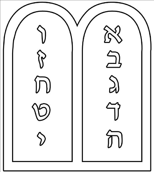 Pills clipart ten Ten vector as: Commandments Clker
