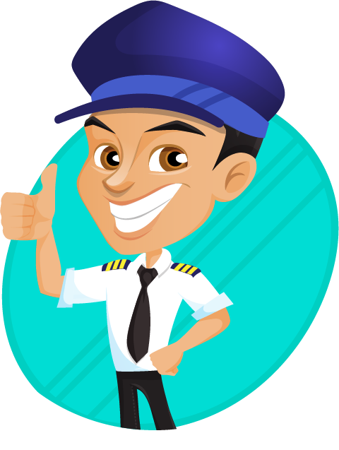Pilot clipart steward Art Clip Pilot Use Domain