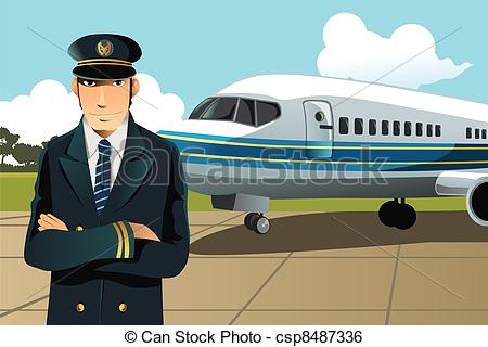 Pilot clipart scared Illustrations 15 Art Airplane A