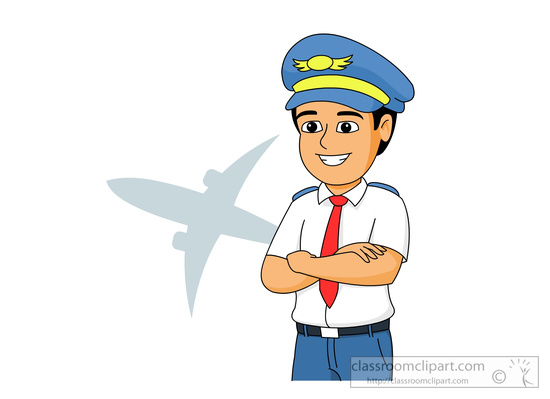 Aircraft clipart female pilot Clip with Art Illustrations Pictures