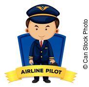 Pilot clipart airline pilot #5