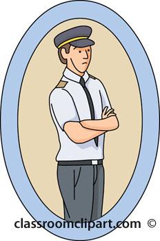 Pilot clipart airline pilot #8