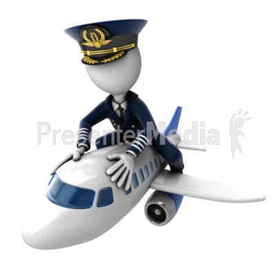 Airplane clipart captain Flying Airplane Airplane Art on