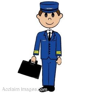 Airplane clipart pilot #9