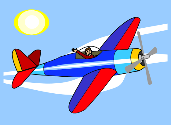 Blur clipart aeroplane The Flying Art in Sky