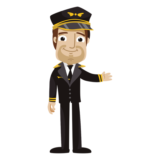 Pilot clipart funny Png cartoon pilot SVG cartoon