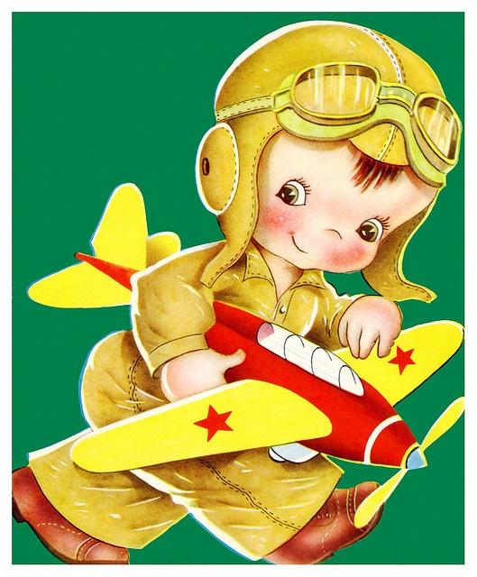 Pilot clipart little boy #6