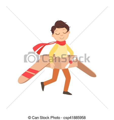 Pilot clipart little boy #7