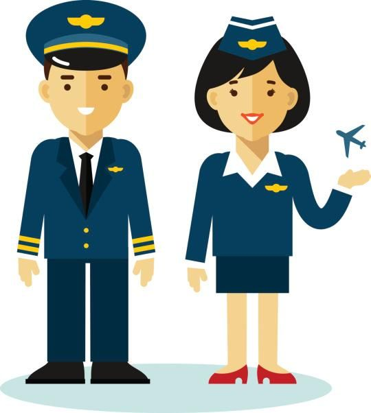 Steward clipart cabin crew Tell Skies: Attendants of and