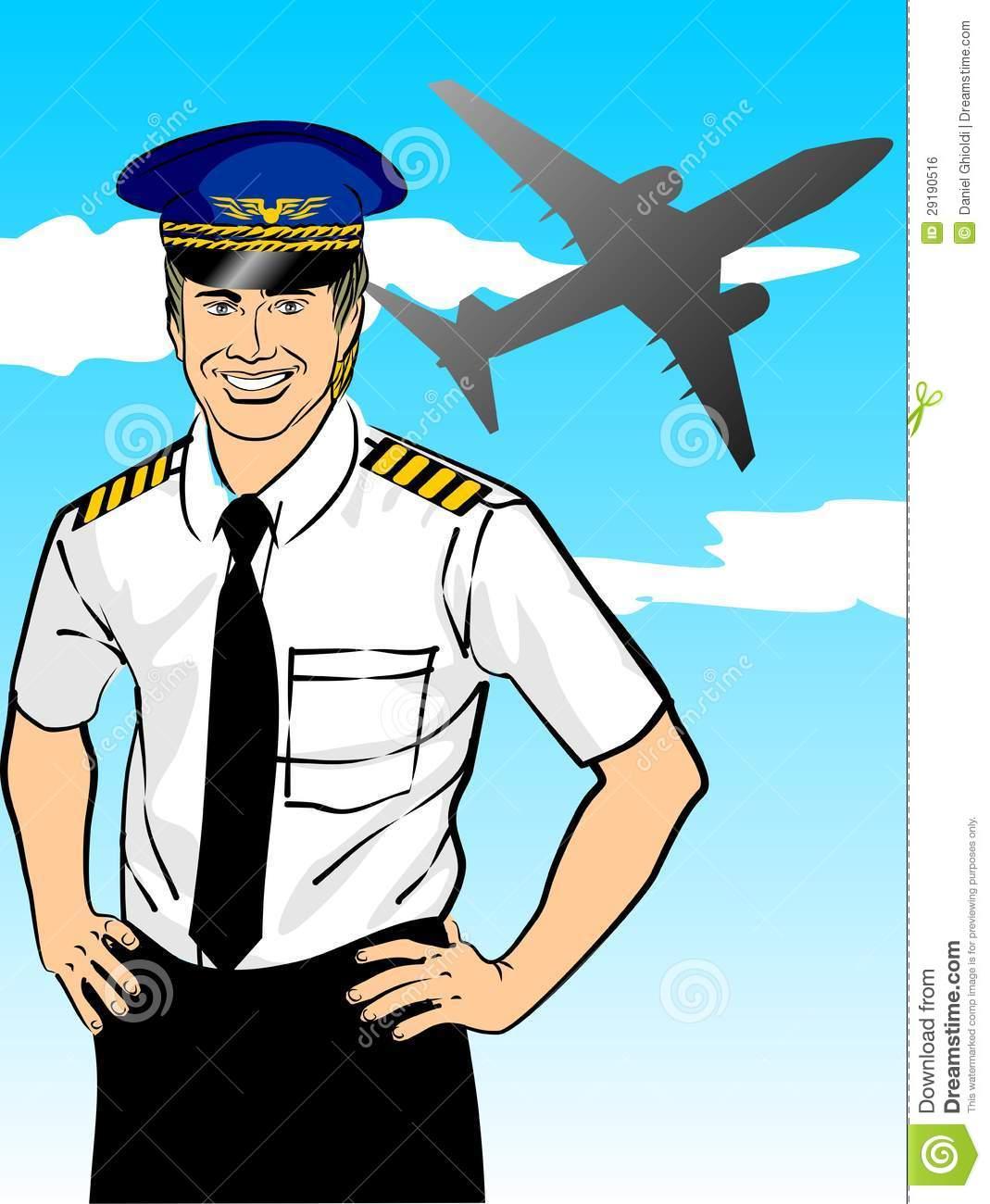Airplane clipart pilot #4