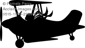 Pilot clipart old airplane Image With of Pilot Art