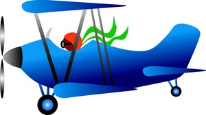 Pilot clipart old airplane Clipart Clipart Airplane images collection