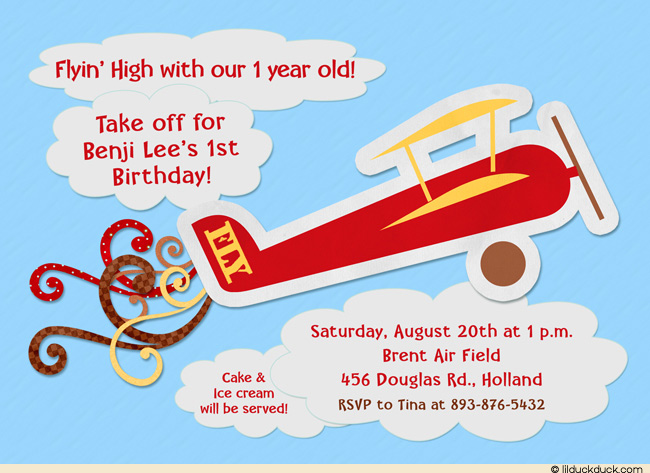 Pilot clipart old plane Birthday Without 1st Pilot Airplane