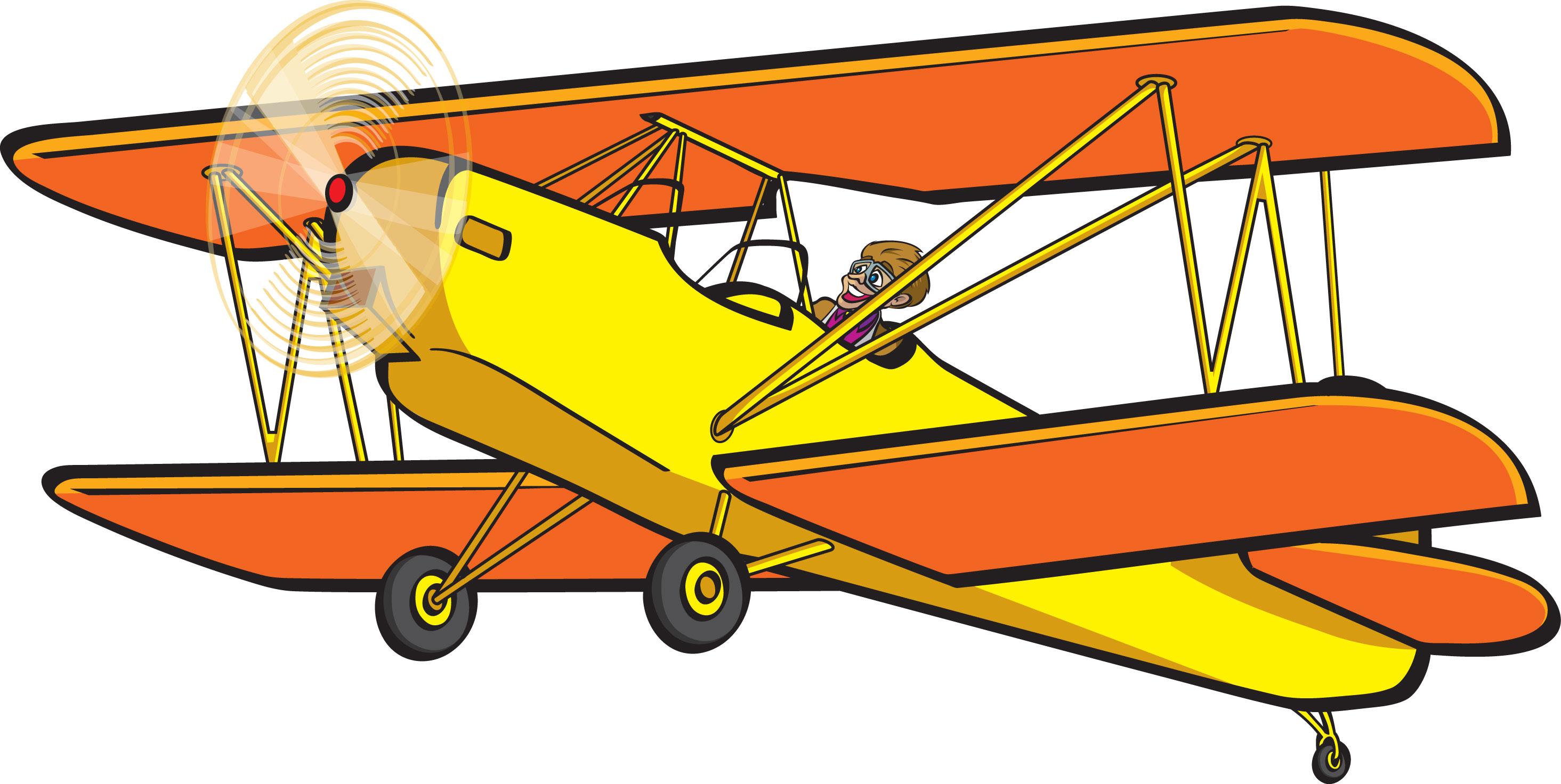 Aviation clipart old plane Biplane Cliparts  Clip Airplane