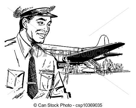 Pilot clipart piloto #4