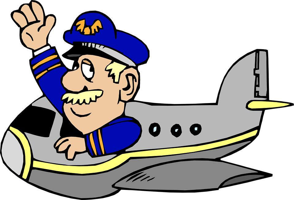 Pilot clipart piloto #11