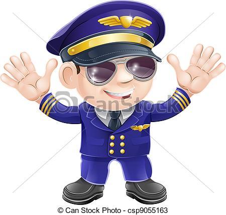 Pilot clipart piloto #6
