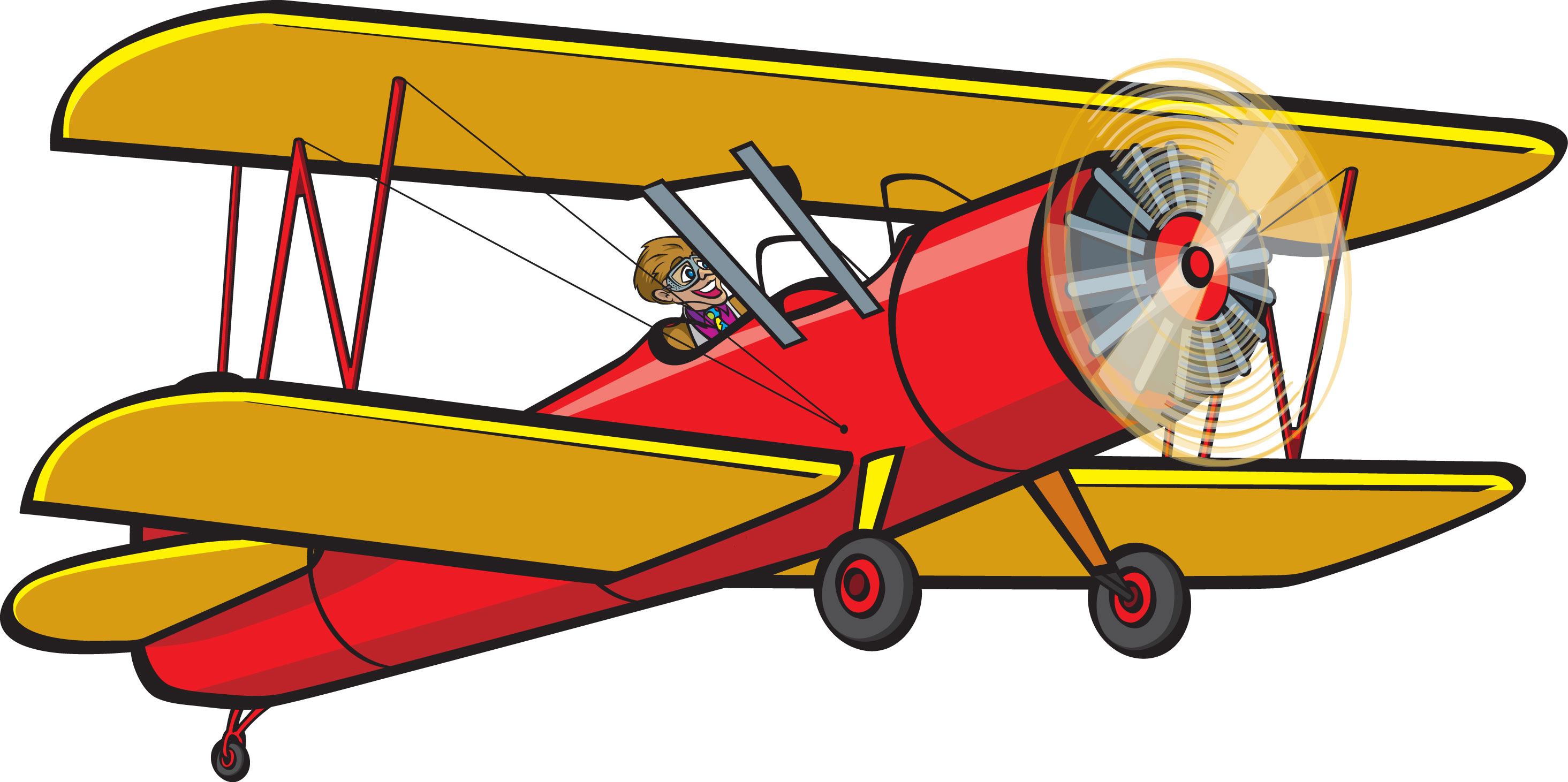 Departure clipart old airplane Clipart ~ Old Plane Clipart