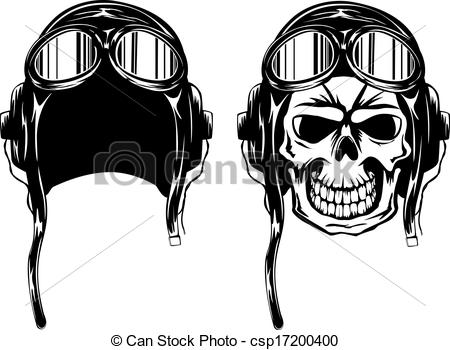 Ssckull clipart pilot Helmet illustration kamikaze kamikaze in