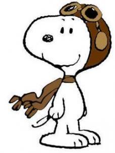 Snoopy clipart pilot Art Pilot Snoopy clip Snoopy