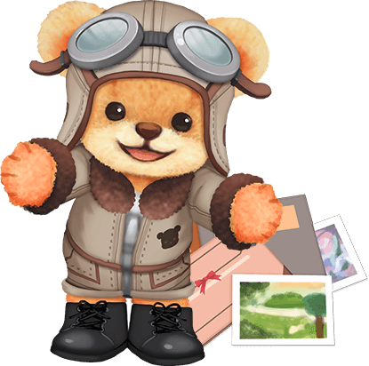 Pilot clipart teddy bear #12