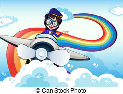 Pilot clipart woman pilot  the Art female in