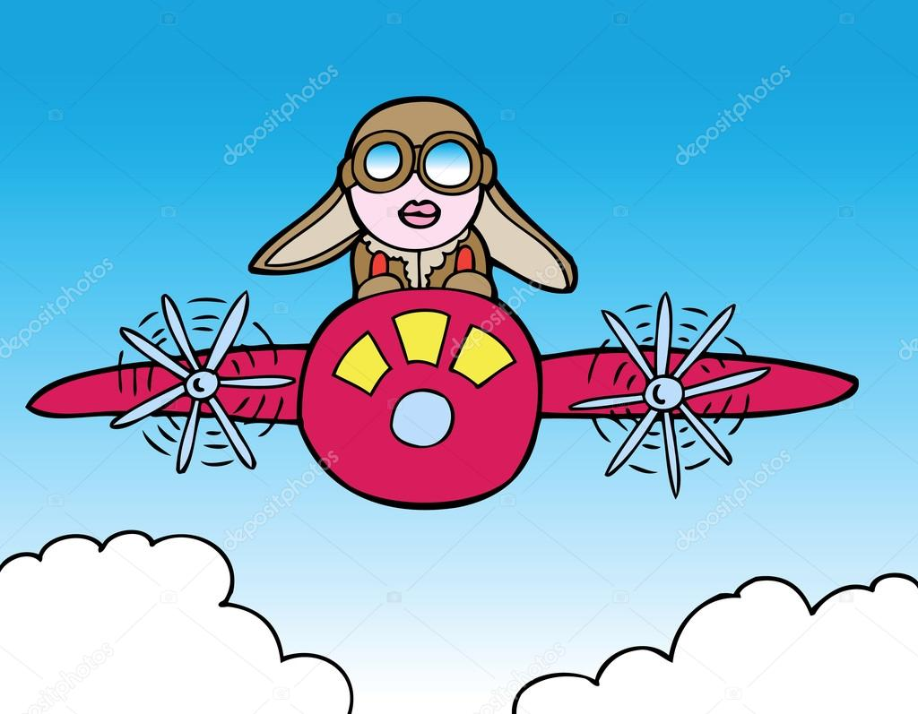 Pilot clipart woman pilot By — pilot Vector ride