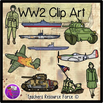 Soldier clipart ww2 art 2 includes: • Product Raising