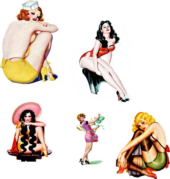 Pin Up  clipart #7